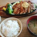 ファームレストラン野島さんち - ポークジンジャーステーキ 1,000円(税込)