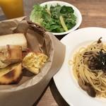 ブーランジェリー アン - パン食べ放題付きランチ 1000円(税込)