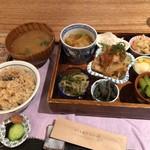 天然食堂 かふぅ - 養生ごはんセット 1200円