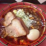 111466964 - 「マーボー麺」@790+「特製(味玉、焼豚2枚」)@200(税込)