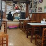 まこと食堂 - お店の中の様子