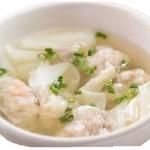 出汁香る 海老ワンタンスープ