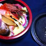 福寿司 - ちらし寿司<中>