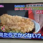 そばうどん 立ち喰い雑賀屋 - 名物鶏天極上太麺そば510円