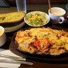 アルタイル - 料理写真:ピザ風スパゲッティーのセット