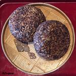 花龍 - 料理写真:五年熟成の八丁味噌の焼おにぎり