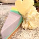 111478411 - レインボーチーズケーキ!