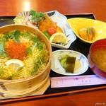 割烹お食事 吉田屋 - 料理写真:2019年5月 わっぱ飯膳魚フライセット【税抜2000円】