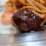 フクノヤ - ハンバーグとチキンカツ 目玉焼き