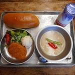 和食 古宮 - シチューとコッペパン給食1080円