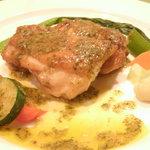 Siuil a Run - 国産鶏のカチャトーラ バジル風味 ¥900
