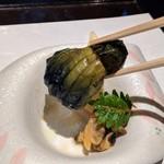 ステーキ&しゃぶしゃぶ ふじた - [料理] 小茄子 アップ♪w