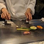 ステーキ&しゃぶしゃぶ ふじた - [料理] 旬野菜のグリル ③