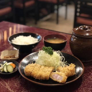 とんかつ 力亭 - 料理写真: