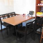 中華キッチン ぐら - 座った席