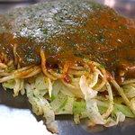 ゆりちゃん - 上質な肉玉そばにカレーソースをオーバーレイ