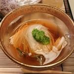 懐石 宿 扇屋 - 先付 長芋素麺
