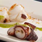 ハルヒ・バル - 蛸のカルパッチョ