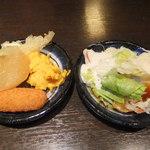 11151481 - 無料サラダ・惣菜バー食べ放題を取りました 【 2012年1月 】