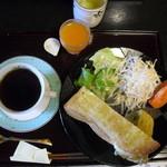 甘味茶寮 且座 - 料理写真:モーニング 500円