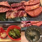 肉いち枚 - 焼肉定食1200円税込