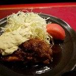 個室和食居酒屋 みやび  - 地鶏照り焼き 高菜タルタル添え