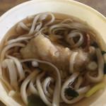 ドライブイン七輿 - 天ぷらうどん(アップ1)
