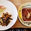 チコ - 料理写真:チコパスタ&ナスライス