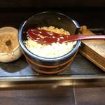 活麺富蔵 - 藻塩、天かす、七味