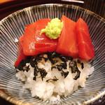 味享 - 〆の鮪丼