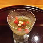 味享 - 蓴菜ポン酢ジュレ