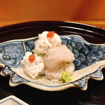 味享 - 天草産鱧の落としと焼き霜