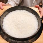 味享 - 土鍋ご飯(魚沼産コシヒカリ)