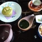 かぶせ茶カフェ - 新茶膳@700