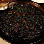 バソデオロ - 料理写真:イカスミパエリア