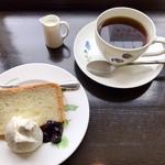 Cafeきょうぶんかん - コットンケーキセット