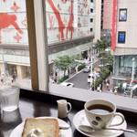 Cafeきょうぶんかん - 松屋銀座の斜向かいにあります