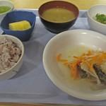 中央食堂 - 今日の昼ごはん