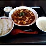 111537972 - 山椒麻婆豆腐定食 880円