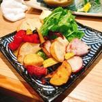 111538272 - 三浦地野菜焼き 650円