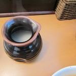 麺人 しょう太郎丸 - つけ麺(みそ)の麺の割り下
