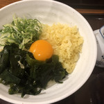 うどん大文字 - 料理写真:たぬきぶっかけ570円