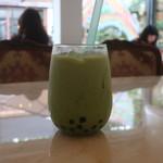cafe雫 - タピオカの旅立ち 抹茶ミルク