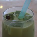 cafe雫 - タピオカの旅立ち 抹茶ミルクアップ