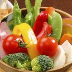 mus - 料理写真:旬の野菜のせいろ蒸し