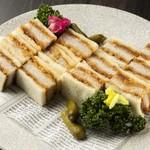 ラパンアジル - 三元豚のサンドイッチ