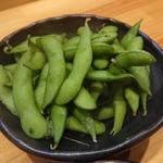炙りと山葵 - 枝豆