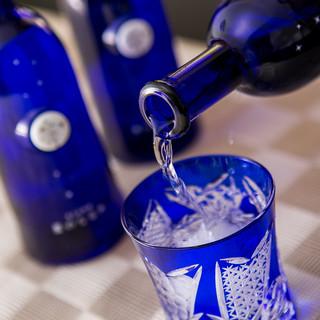 日本ワイン、日本酒から幻の焼酎まで取り揃え豊富です