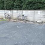 大勝軒いぶき - 近くの月極駐車場に専用区画
