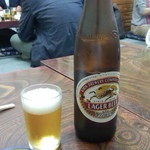 鳥房 - 瓶ビール(650円)